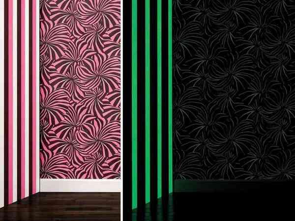 papier peint fluorescent clairage de la cuisine. Black Bedroom Furniture Sets. Home Design Ideas