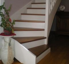 Cl mence jeanjan d coratrice d 39 int rieur seine maritime eure haute normandie comment relooker - Relooker un escalier en bois ...